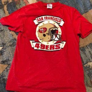 Vintage kids 49ers t shirt